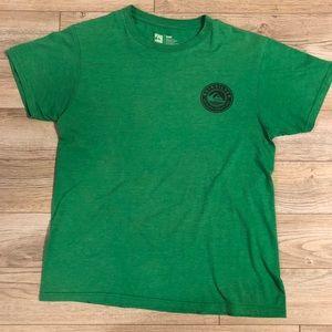 Green quicksilver original creation's T-shirt
